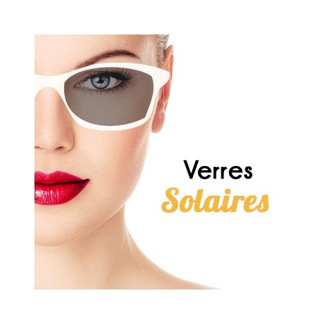 VERRES SOLAIRES
