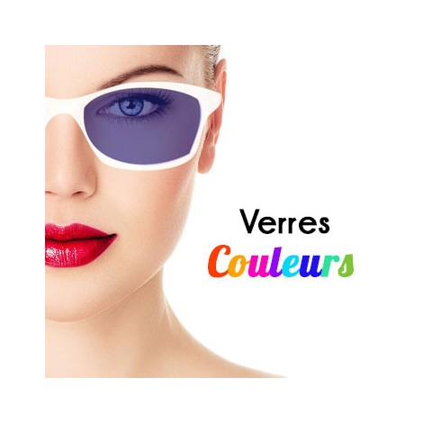 VERRES DE COULEURS